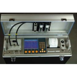 Portable flue gas analyzer Sensonic (Type : 6000)