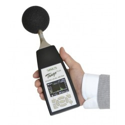Portable Sound Level Meter and 1/3 Octaves