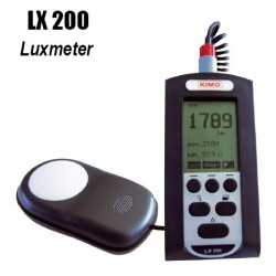 Portable Lux Meter, Light Meter ( Kimo / LX-200)