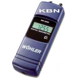 Digital Manometer Gas Installler ( Wohler/ DM-2000)