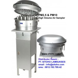 PM2,5 & PM10 High Volume Air Sampler